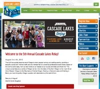 Cascade Lakes Relay Web Design