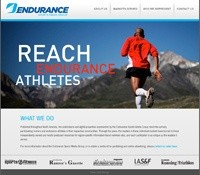 Endurance Sports Media Web Design