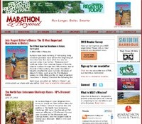 Marathon and Beyond Web Design