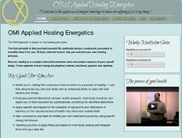 Omni Energetics Web Design