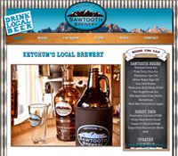 web design brewery