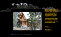 Wintertux Cabin Rental Web Design