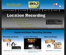 Enso Audio Web Design