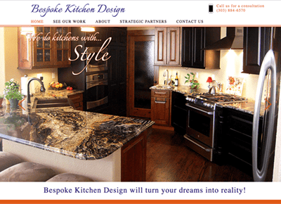 kitchen web design.  Bespoke Kitchen Design Web Clean Colorado Portfolio